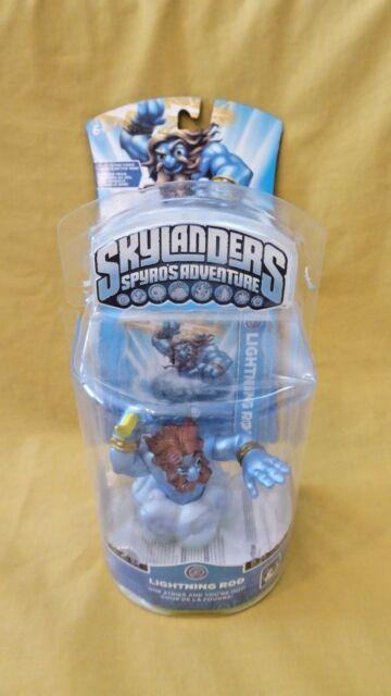 NEW Skylanders Spyro's Adventure LIGHTENING ROD FAST SHIP Rare