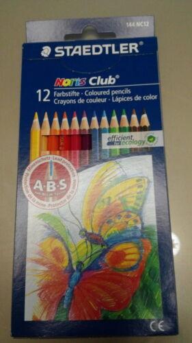STAEDTLER Noris Club Coloured Pencils 144 NC12 12COLOR SET