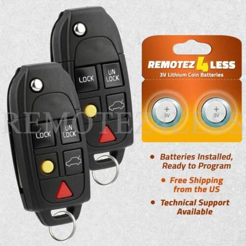 2 For 2003 2004 2005 2006 2007 Volvo XC70 Keyless Entry Remote Car Key Fob