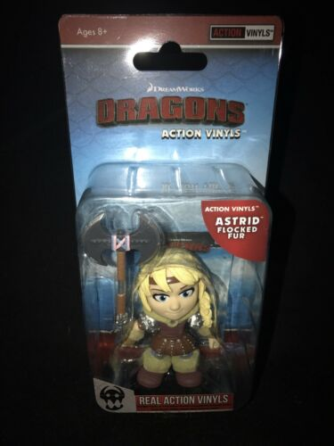 The Loyal Subjects How To Train Your Dragon Flocked Fur Astrid 1//24 *CHASE*
