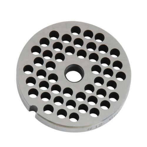 "for #12 Grinders Meat Grinder Plate 3//16/"" Holes around Meat Grinder Parts"