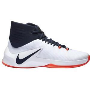 9ed238a09ae6 Nike Men s Zoom Clear Out Basketball Shoes 844370-146 White Obsidian ...