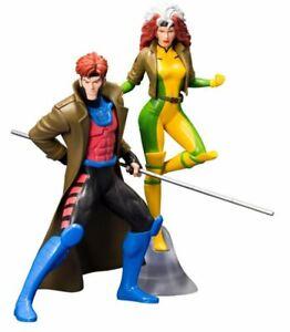 Kotobukiya-Artfx-X-Men-92-Gambit-amp-Rogue-Figurines