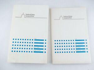 Federal-Data-Corporation-XAT-MS-DOS-v3-1-amp-GW-BASIC-3-11-5-25-034-Floppy-Disks-Book