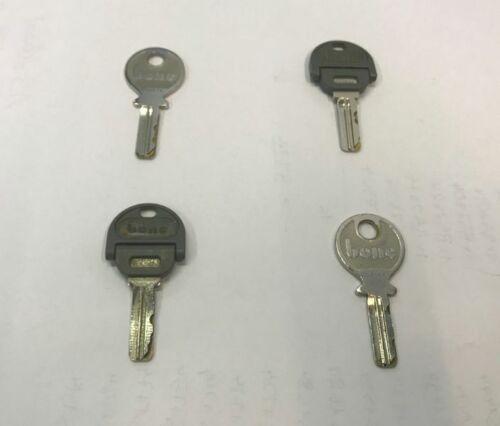 Ersatzschlüssel Büro Büroschlüssel B51034-B52904 Bene