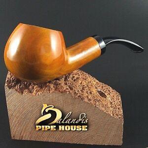 ECCEZIONALE Mr.Balandis originale Fatto a Mano Pipa legno di pero SPARROW Honey