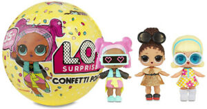 LOL Muñeca Sorpresa Serie 3 L.O.L. Surprise! Confetti Pop Ball...