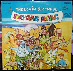 THE LOVIN' SPOONFUL Everything Playing Album Released 1967 Vinyl Collection USA