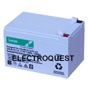 Batterie 12V 12ah Peg Perego Injusa Feber Voiture électrique