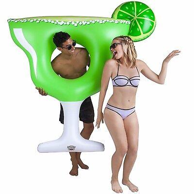 GIANT MARGARITA DRINK Inflatable Swimming Pool Float Raft Tube BigMouth Inc