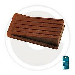 cf 8 pz fermaporte in abs adesivo a cuneo marrone fermaporta ferma porta