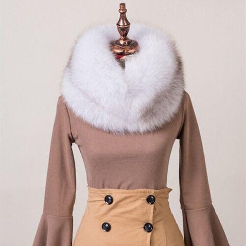 Red Fox Fur Collar/&Cuffs//Stole//Shawl//Silver Fox Fur Scarf Headband Hat Cap White