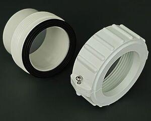 "2"" Spa Hot Tub Heater Split Nut Union & (2) Gasket O-ring Balboa Oring"