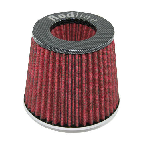 Redline EFI Air Pod Filter 65mm Neck Carbon Fibre top - 16-521