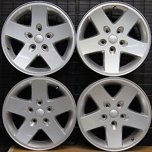NEW-Jeep-Wrangler-Sport-17-034-Factory-OEM-Wheels-Rims-2007-17-9074-Free-Shipping