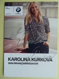 Karolína Kurková TCH (Model) - Autogrammkarte | eBay