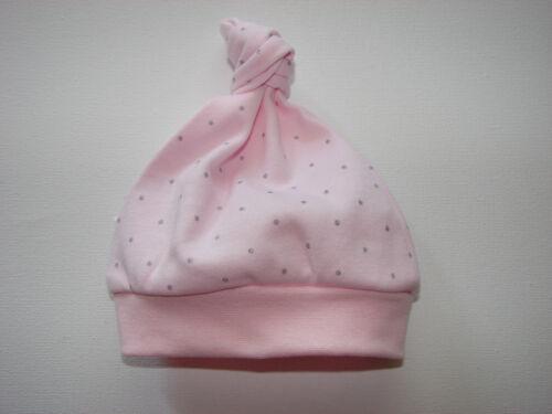 Baby Knotenmütze Zipfelmütze Mütze Farben Wahl Mädchen Junge 41 43 45 NEU