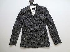 Armani Exchange A/X Black Polka Dot Blazer Suit - Size 2 -  NWT