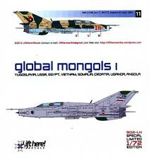 lh902/ Lift Here Decals - MiG-21 UM - Global Mongols - Pt. I - 1/72 - TOPP