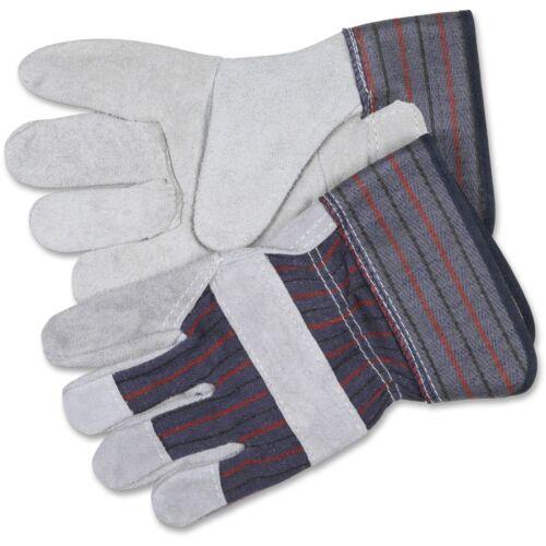 """MCR Safety Safety Gloves Leather Split Shoulder 2-1//2/"""" Cuff Medium BE CRW12010M"""