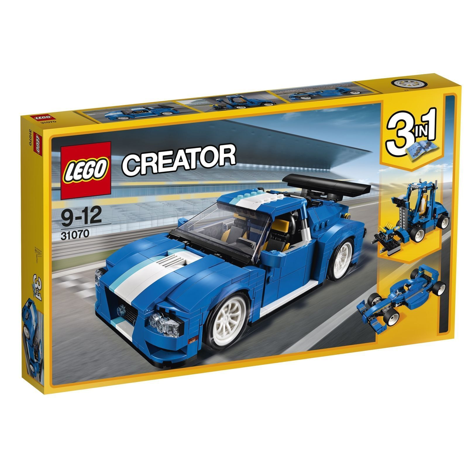 LEGO® Creator 31070  Turborennwagen  3in1 Modell Lernen Kreativität NEU OVP
