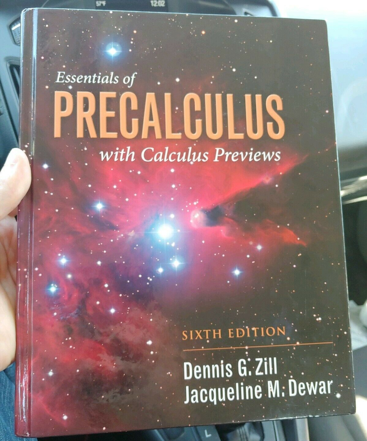 Essentials Of Precalculus With Calculus Previews By Dennis G Zill And Jacqueline M Dewar 2014 Hardcover