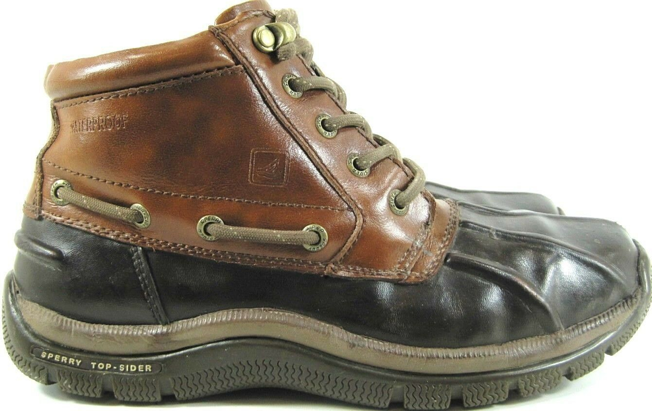 Sperry Top Sider Men Boots Size 8.5 M Brown Style STS 12395 Non-Marking.