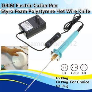 10CM Electric Hot Wire Styrofoam Foam Cutter Pen Heat Cutting Craft ...