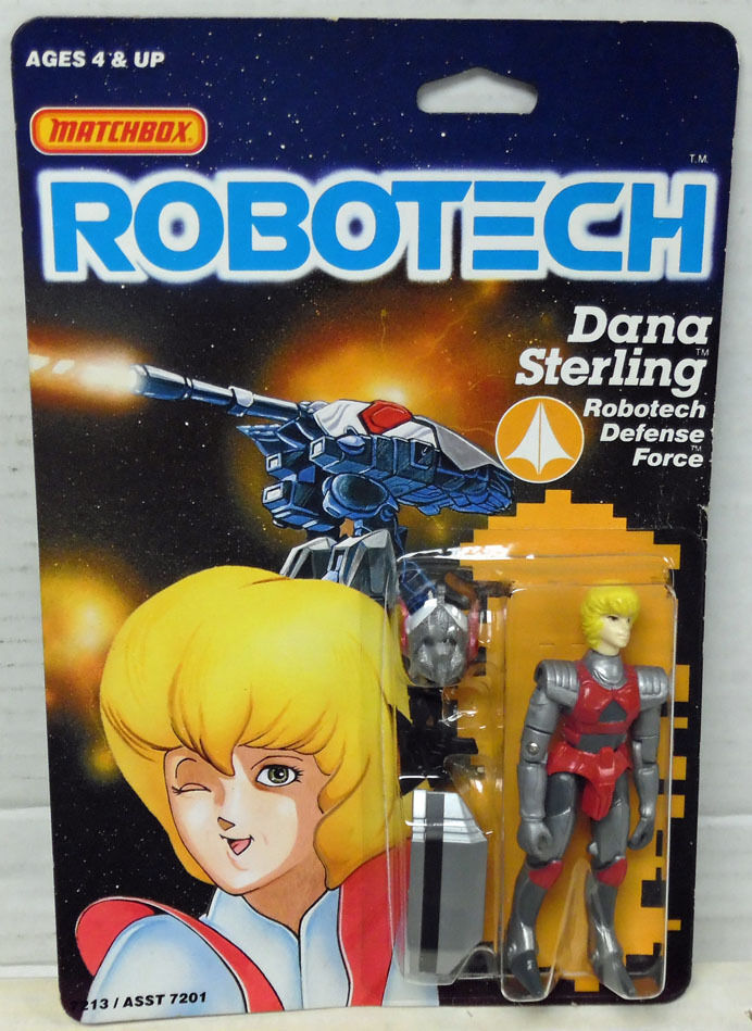 Robotech Dana Sterling Action Figure MOC 1985 Matchbox