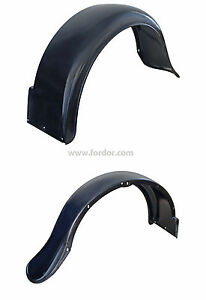 1931 Ford Wide Bed Pick Up Truck Rear Fender Steel Braces New Pair