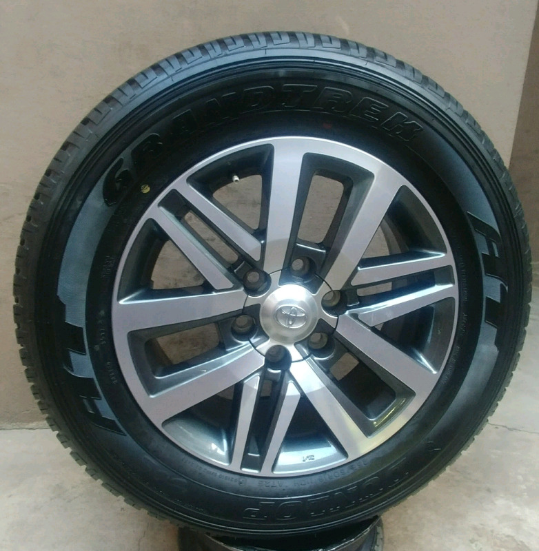 TOYOTA GD6 RIM AND TYRE 18 INCH
