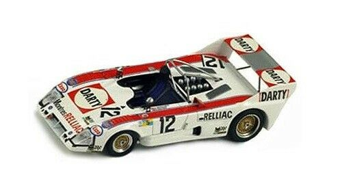 Lola T284 Ford  12 Schulthess-Bayard  Le Mans  1975  Bizarre 1:43 / BZ155