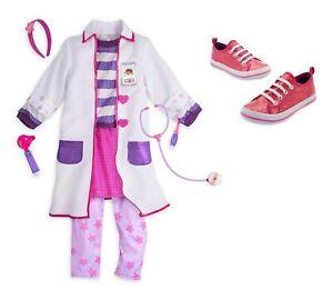 Doc McStuffins Disney Store Girls Size