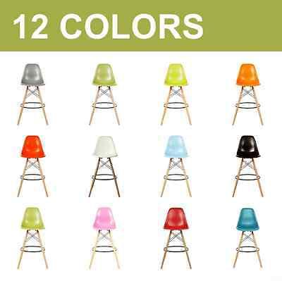 mid century modern dsw counter stools plastic chair dowel wood.eames,esqu