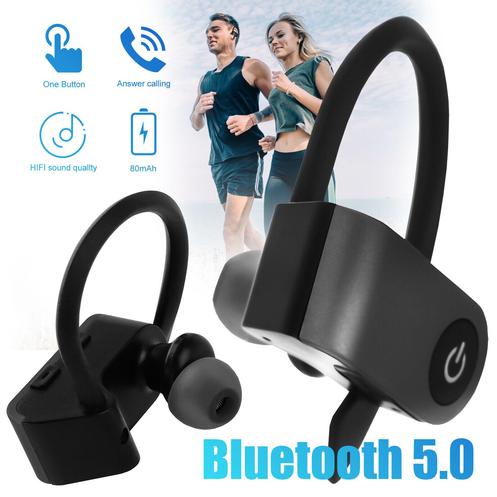 Wireless Bluetooth Stereo In-Ear Headset Kopfhörer für Samsung iPhone