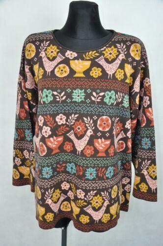 Gudrun Sjoden Cotton Womens Sweater size  L