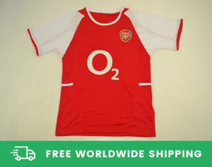 more photos 154cd dbc8d Details about Arsenal 2002-2004 The Invincibles Jersey Shirt Kit Henry  Pires Vieira Size S-XXL