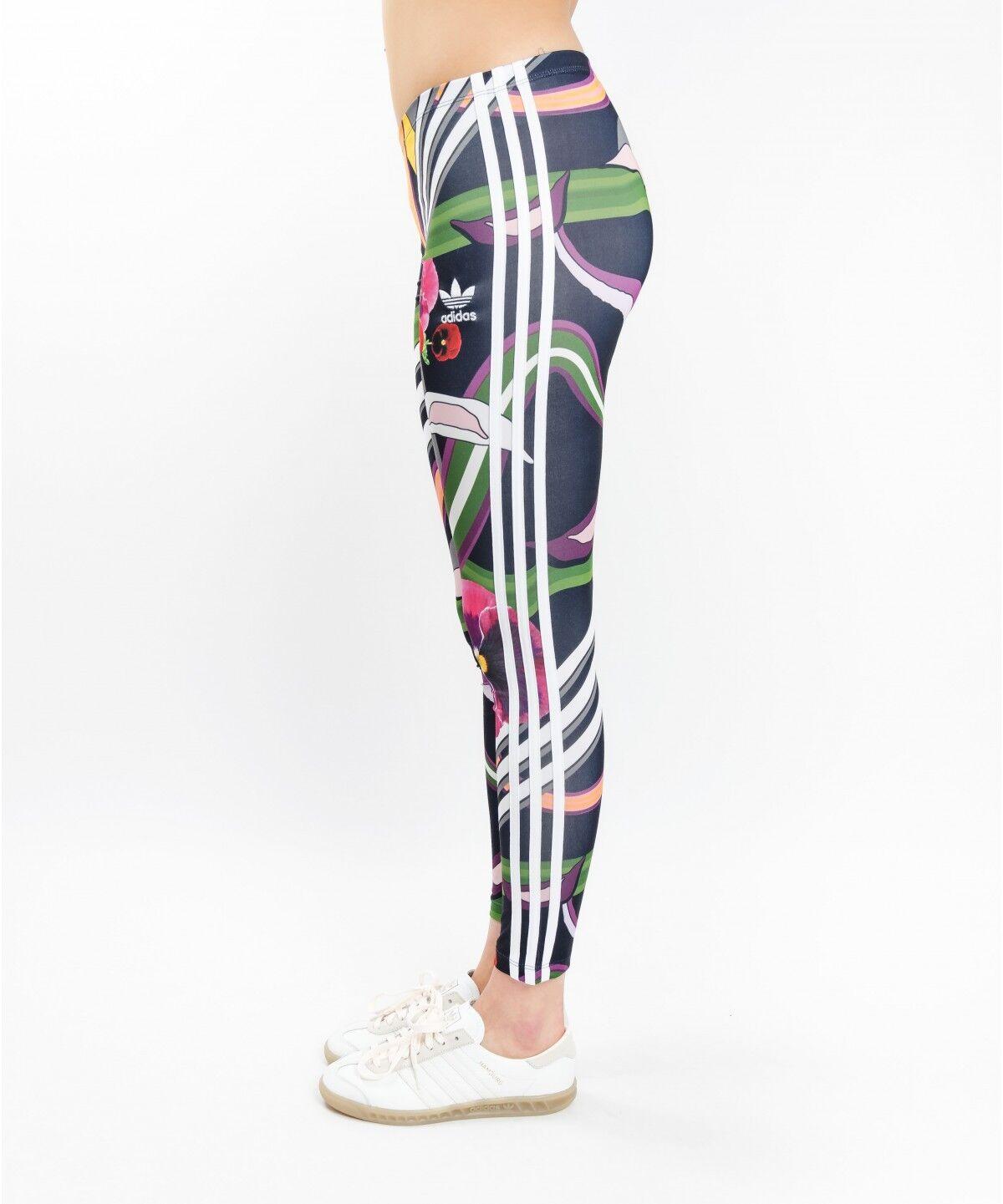 Adidas Originals W W W Floreale Burst Leggings Taglia NUOVO (555) 41647b
