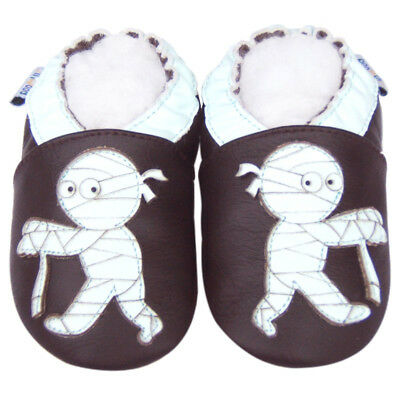 Jinwood Littleoneshoes Soft Sole Leather Baby Infant Kid Guitar Shoes 24-30M