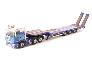 Image Is Loading N Scale Semi Truck Tractor Trailer Rig With