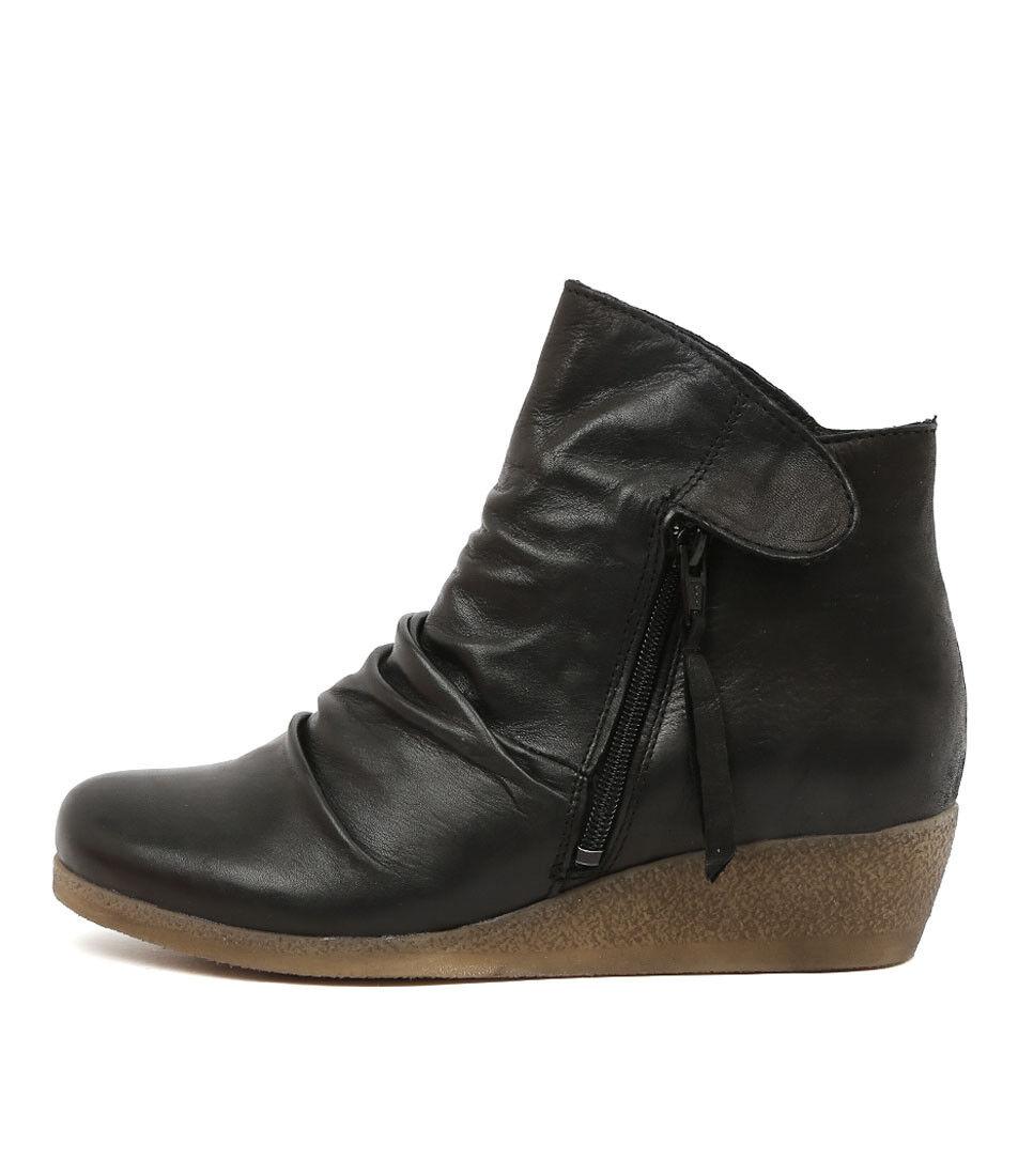 New Effegie Ensoni W Black Womens Shoes Comfort Boots Ankle