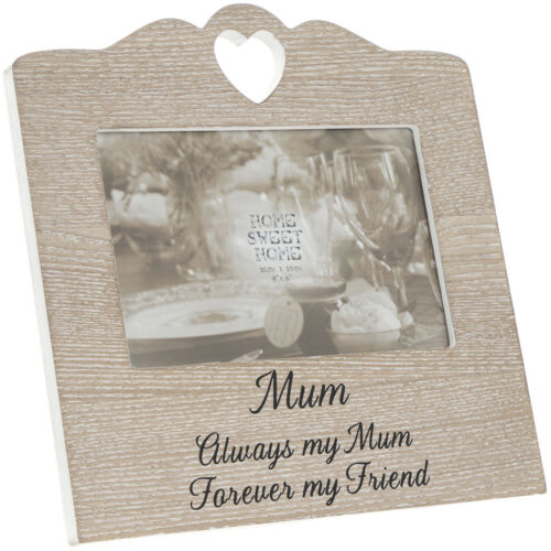 Photo Frame Wood Effect Rustic Picture Photo Frame Light Brown White Wash
