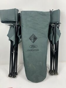 Détails Pliantes d'origine de EXPEDITION avec rangement Camping le afficher sac toile Picnic Pêche titre Chaises sur FORD zpqVGLMSU