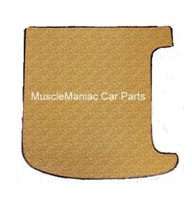 Trunk Floor Mat Cover for 1946-1948 Plymouth Brown 2pc Made in USA