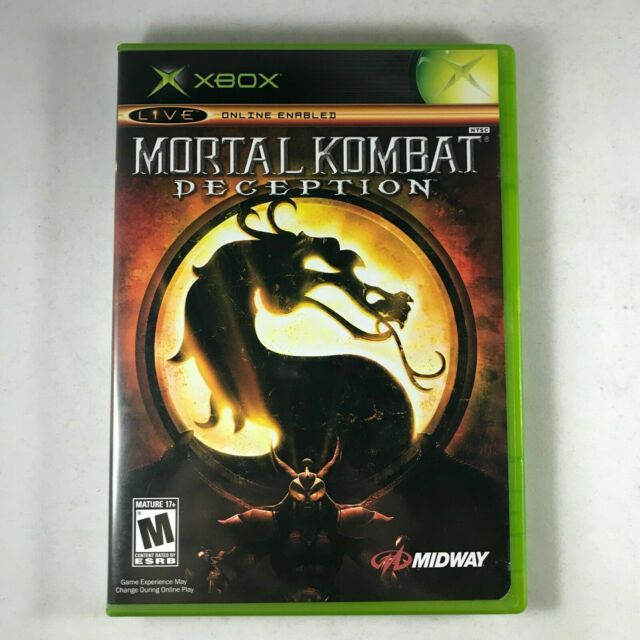 Mortal Kombat Deception - Original Xbox Complete With Manual