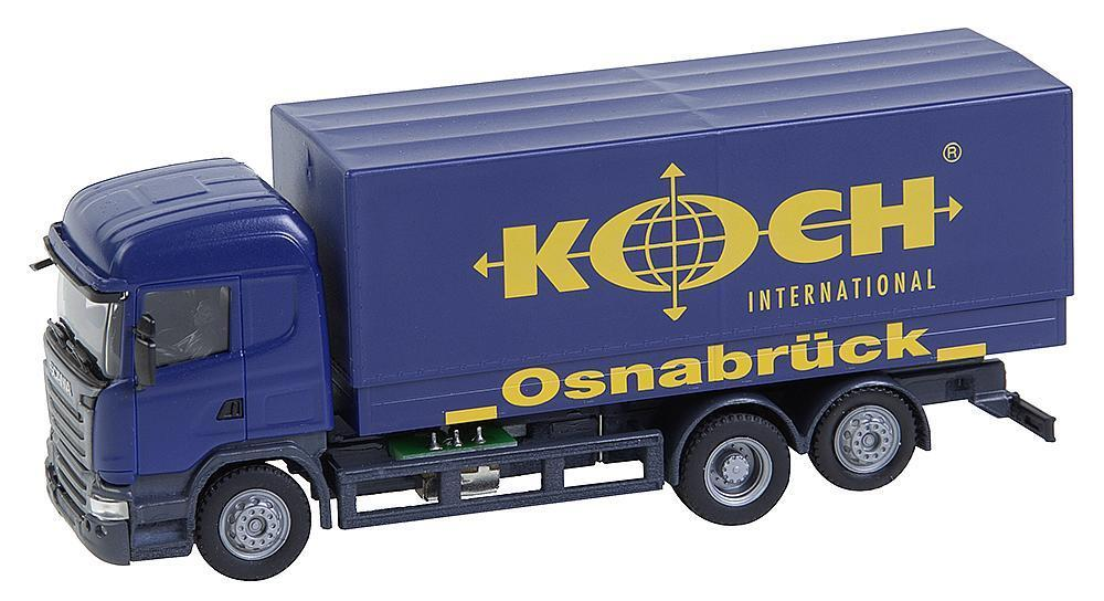 Faller h0 161595 CS scania R 2013 hl kolkw Koch (Herpa) nuevo en el embalaje original