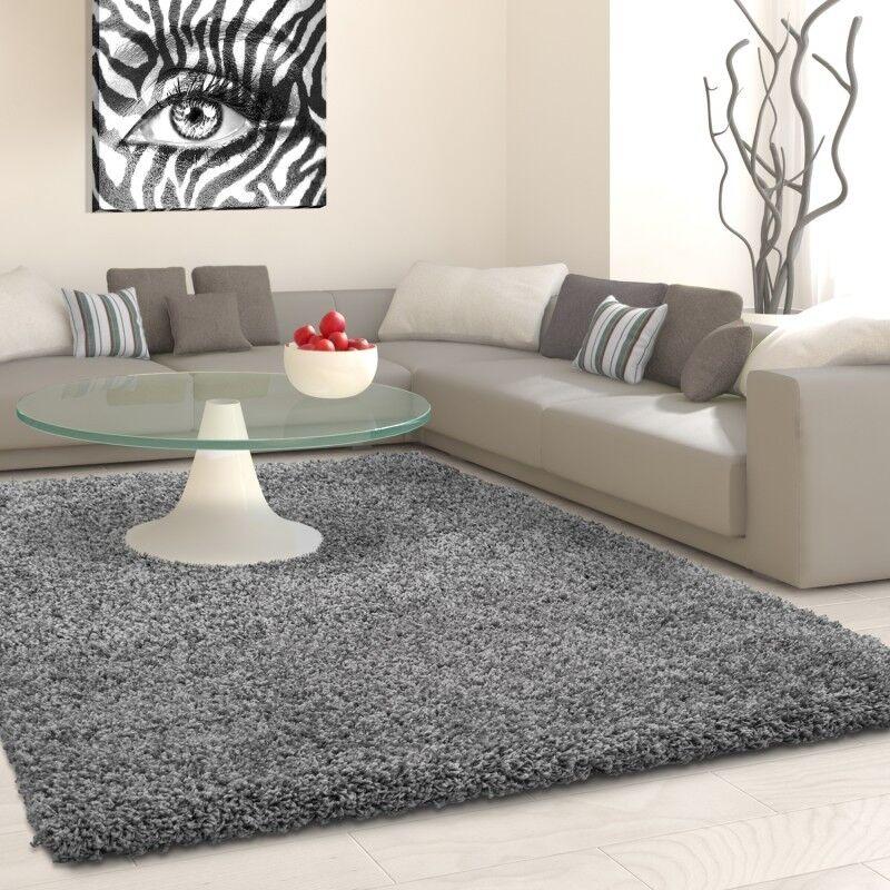 LIFE Teppich in versch. Größen - grau Wohnzimmerteppich Wohnteppich Wohnteppich Wohnteppich Teppich 0eda8d