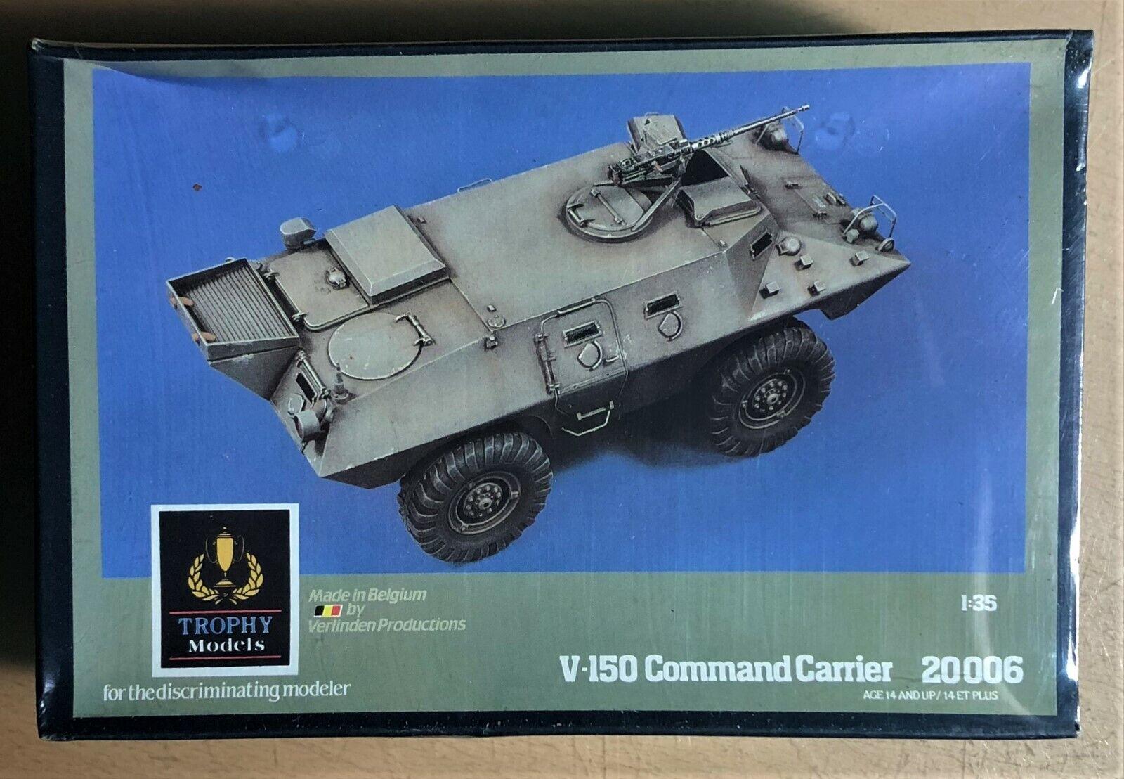TROPHY MODELS (VERLINDEN) 20006 - V-150 COMMAND CARRIER - 1 35 RESIN KIT