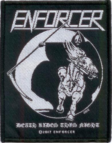 Enforcer Death Rides Patch 8cm x 10cm