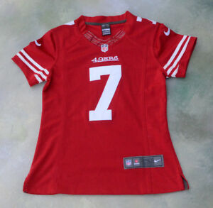 lower price with d9e46 59922 Details about Nike On Field NFL San Francisco 49ers Colin Kaepernick #7  Jersey Size Women S.